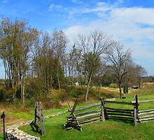 Antietam Battlefield - the Lay of the Land by Bunny Clarke