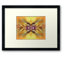 Cheerful Disposition Framed Print