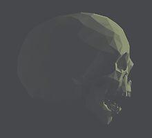 Skull roar dark blue by pseudoart