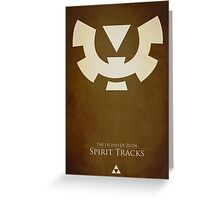 Spirit Tracks Greeting Card