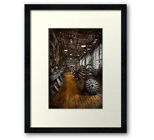 Machinist - Lathes - The original Lather Disc  Framed Print