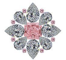 The Tudor Rose Pink Diamond by eldonshorey