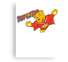 SuperTed! Canvas Print
