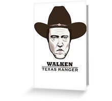 Christopher Walken - Walken, Texas Ranger Greeting Card