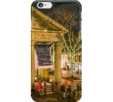 Quincy Market at Christmas iPhone Case/Skin