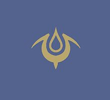 Fire Emblem Awakening Insignia Royal Blue/Gold  by AMPEE