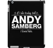 Andy Samberg - If I Die Series (Variant) iPad Case/Skin