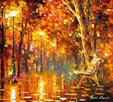 Time Never Ends — Buy Now Link - www.etsy.com/listing/215149041 by Leonid  Afremov