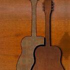 Wood Be Guitar by Lisa  Marie Peaslee
