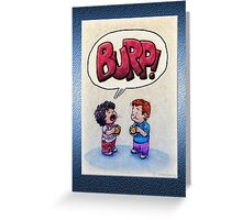 Expressive! Greeting Card