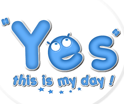 Yesthisismyday Blue Logo by Beo Lo