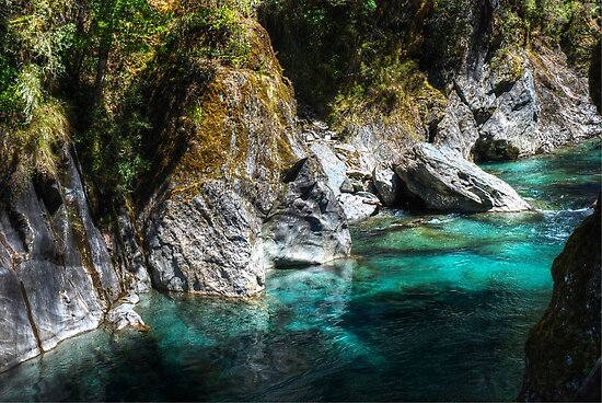 Turquoise Waters by DavidsArt