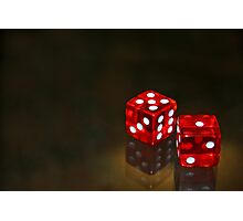A game of chance Photographic Print