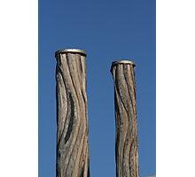Newcastle Baths Poles Photographic Print