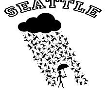 SEATTLE....where it's always raining Cats and Dogs! by Kricket-Kountry