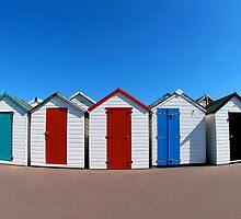 Beach Huts by Darren Findlow