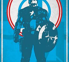 The First Avenger Print by Limitee