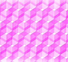 Pink Blocks by Penny Marcus