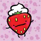 strawberry and cream by vonzilla