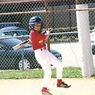 Isaac at bat by rue2