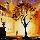 Lonely Tree — Buy Now Link - www.etsy.com/listing/215246760 by Leonid  Afremov