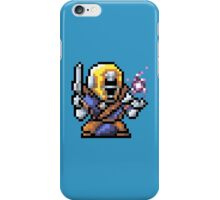 OLD SCHOOL SPACE WIZARD iPhone Case/Skin