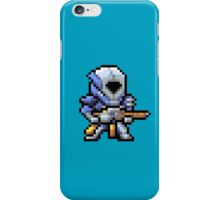 OLD SCHOOL SPACE MARINE iPhone Case/Skin