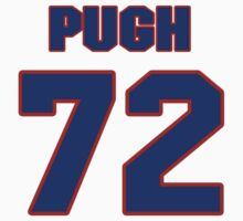 National football player Justin Pugh jersey 72 by imsport