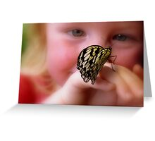 WOW!! A Paper Kite Landed On My Hand! - Paper Kite Butterfly - Dunedin NZ Greeting Card