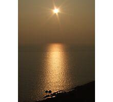 Sunset over North Devon Photographic Print