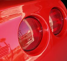 Taillight Reflection by tvlgoddess