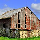 Old Barn by EBArt