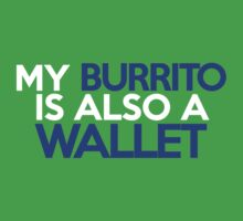 My burrito is also a wallet Kids Clothes