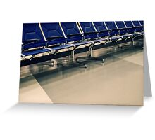 In Transit Greeting Card