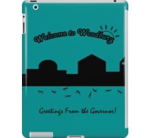Welcome to Woodbury! iPad Case/Skin