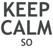 Keep Calm So Say We All Sticker