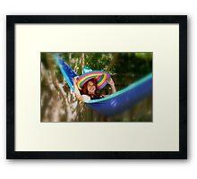 Sombrero Joy - Christchruch Framed Print