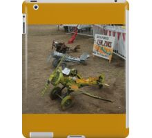 Spare Parts Aircraft Sculptures, Cunderdin Airshow, Australia 2005 iPad Case/Skin