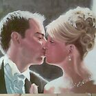 wedding portrait commission by imajica