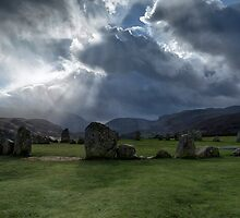 Castlerigg Stone Circle, Cumbria, England by Bob Culshaw