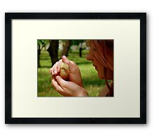 Ohh.. So Precious... - Baby Chick - NZ Framed Print