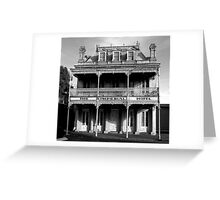 Imperial Hotel BW Greeting Card
