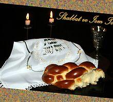 Shabbat Shalom! by Daniela Weil