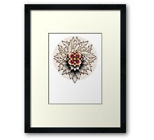 For The Grace Received Framed Print