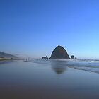 Haystack Rock by BubbaGeorge
