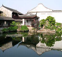 Suzhou Garden #1 by Julien Bertrand