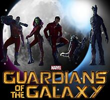 Guardians Of The Galaxy   by Enovv