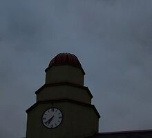 HDR Composite - The Shortest Clock Tower by wetdryvac