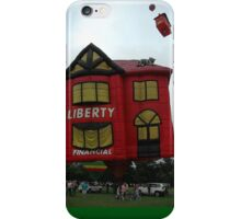 Rising Houses, Australia Day, Parramatta 2006 iPhone Case/Skin