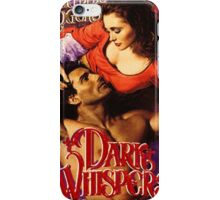 Dark Whispers Romance Novel Cover iPhone Case/Skin